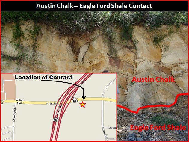 Austin Chalk - Eagle Ford Shale Contact